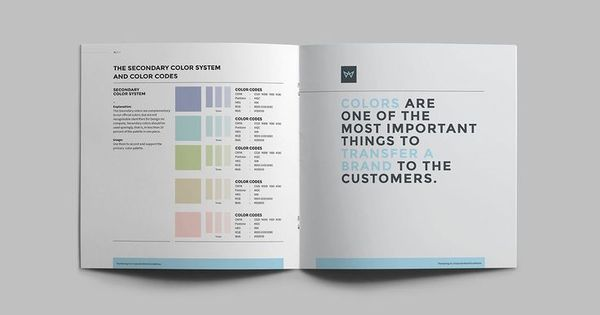 Brand Manual and Identity 36 Pages Template InDesign INDD - manual cover page template
