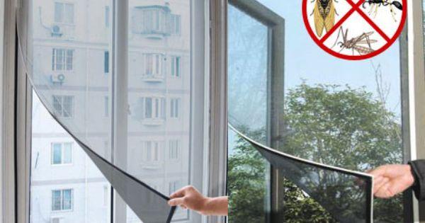Diy Magnetic Fly Screen Kit Mosquito Door Screens Window Mesh Window Mesh Screen