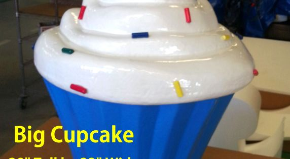 Big Foam Cupcake Prop 28 Quot Tall Event Decor Pinterest