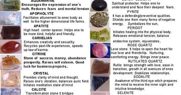 Semi Precious Stone Meanings Just Cool Pinterest