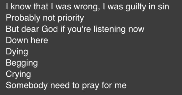 ANTHONY HAMILTON - PRAY FOR ME LYRICS