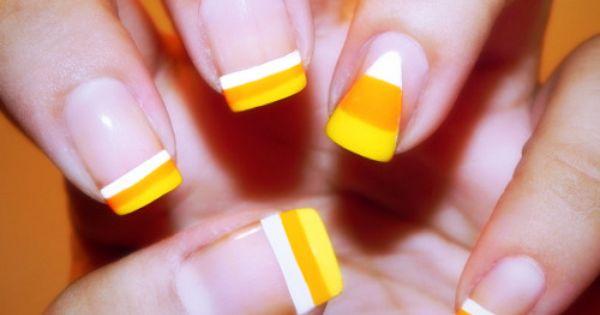 Colors Sun Sational Ulta Superstar Pure Ice Orange Kiss Nail Art Happy Halloween To All 1 313 Of My Followers If Yo Candy Corn Nails Nails Fun Nails