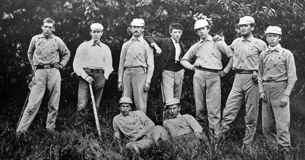 Princeton university baseball team 1870 historical for Big fish princeton