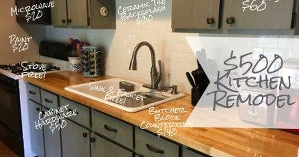 Updating A Kitchen On A Budget 15 Awesome Cheap Ideas Refresh Living Budget Kitchen Remodel Kitchen Remodel Small Kitchen Remodel