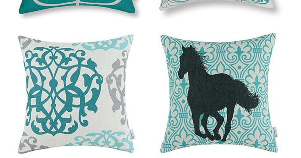 chic fabulous and cheap turquoise throw pillows With cheap turquoise throw pillows