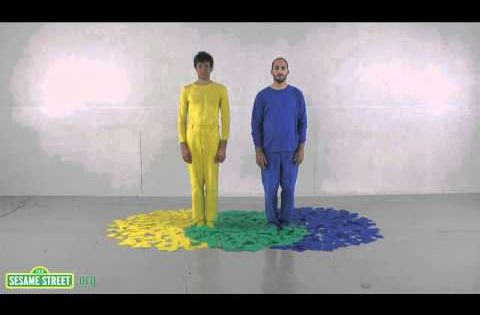 Sesame Street: OK Go - Three Primary Colors. @Todd Petersen - they