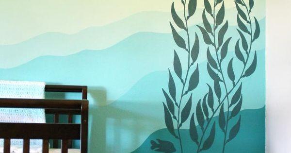 Kelp Forest Nursery // JJA Murals if I'm still thinking ocean theme