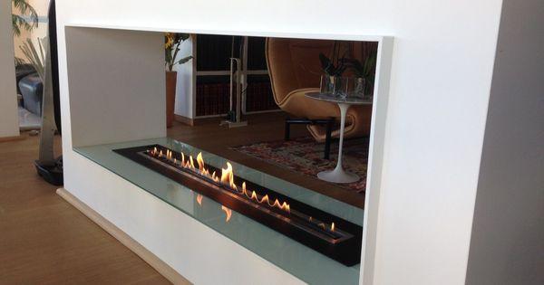Ferngesteuerte-ethanol-kamin-afire Https://www.a-fireplace.com/de ... Ethanol Trennwand Kamin