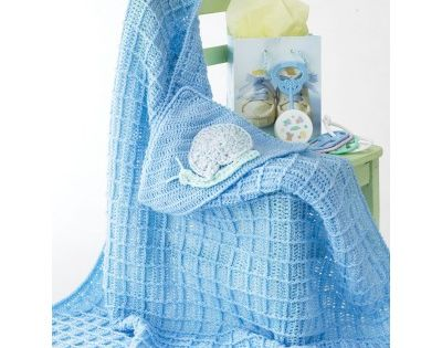 Crochet Patterns Intermediate : Free Intermediate Babys Blanket Crochet Pattern maglia e uncinetto ...
