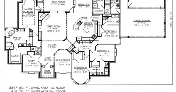 5 bedroom house plans 1 story promising but still needs for Panic room construction plans