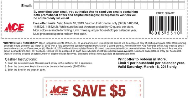 Ace hardware coupon code