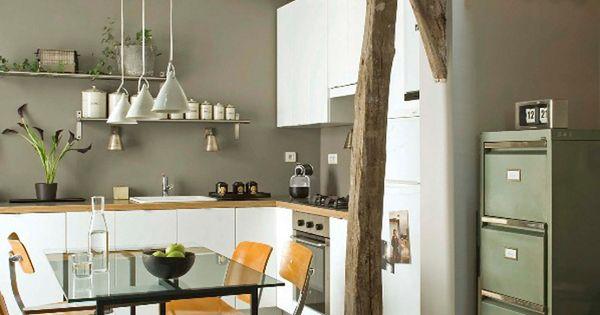 Tico en par s como base han elegido el gris paredes - Muebles grises paredes color ...