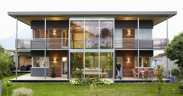 Hersteller wolf system modernes landhaus architecture for Bauhaus case in legno