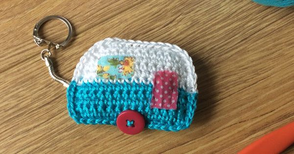 Caravan Knitting Pattern : Crochet Caravan Keyring ? ??? ? Knit and crochet Pinterest Will have, P...