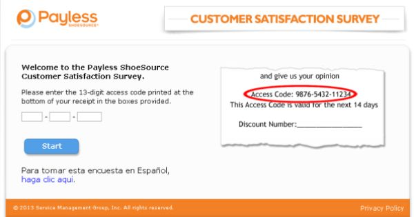 Payless ShoeSource Customer Satisfaction Survey , wwwtellpayless - customer satisfaction survey