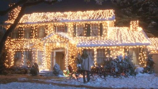 Griswold House In National Lampoon S Christmas Vacation Christmas Vacation Movie Christmas Vacation House Lampoon S Christmas Vacation