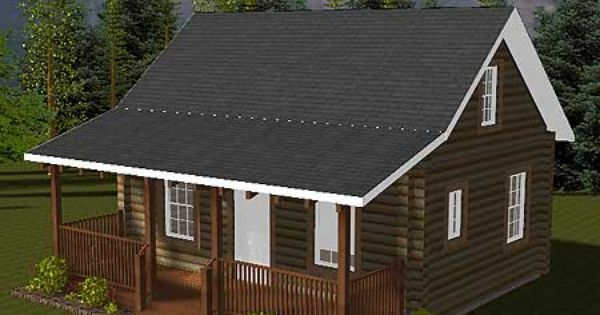 Log cabin homes this is very nice for a vacation home my dream house pinterest log cabins - Small log houses dream vacations wild ...