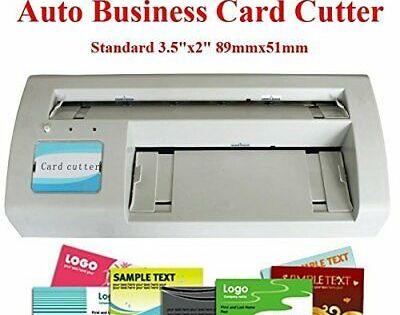 Business Card Slitter Cutter 89x51mm Card Diy 110v With 2000 Business Card Templ Business Card Cutter Business Card Stock Visiting Card Printing