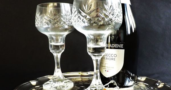 Wedding Gift Cocktail Glasses : Large Wine Prosecco Cocktail Glasses Goblet, Wedding Toast Gift ...