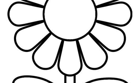 Coloriage fleur images pour l 39 coles et l 39 ducation dessins et photos ducatives ressources - Coloriage fleur 2 ans ...