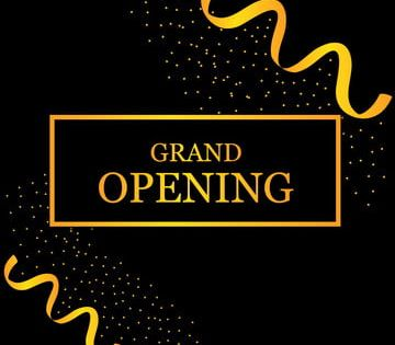 Grand Opening Soon Opening Grand Soon Png And Vector With Transparent Background For Free Download Grand Opening Grand Opening Banner Geometric Pattern Background