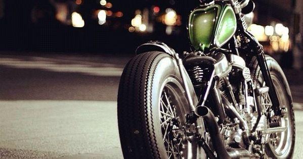 #harley harleydavidson vintageharley bobber motorcycle