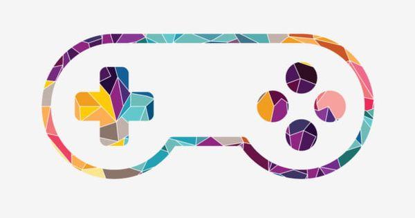 Joystick De Console De Jeu Video Colore Clipart De Controleur Jeu Console Png Et Vecteur Pour Telechargement Gratuit Video Game Logos Video Games Birthday Party Video Game Console