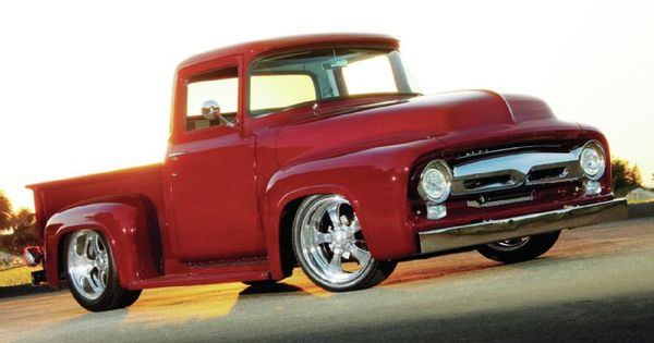 1956 ford f100 my dream project build chop the roof line a couple inches and flare out the. Black Bedroom Furniture Sets. Home Design Ideas