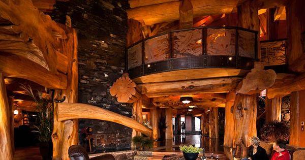 pioneer log homes of british columbia interior pinterest maison en rondins rondin et. Black Bedroom Furniture Sets. Home Design Ideas