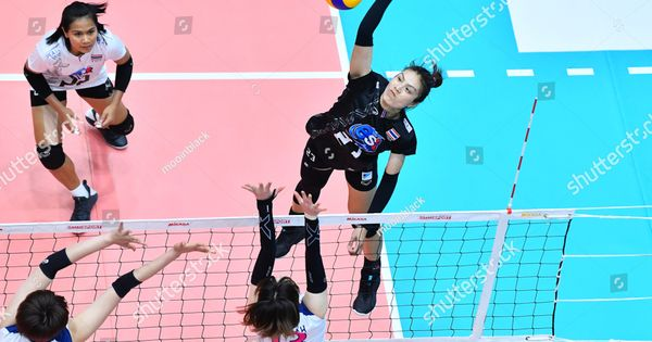 Jutarat Montripila No 23 Black Of Thailand In Action During The Volleyball Korea Thailand All Star Super Match 2019 At T In 2020 Photo Editing Stock Photos Thailand