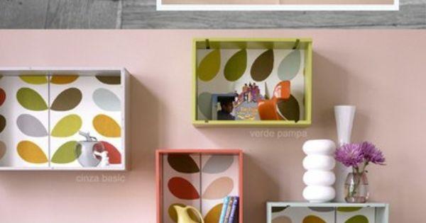 Cajas de vino como estanter as muebles ecol gicos - Estanterias de vino ...