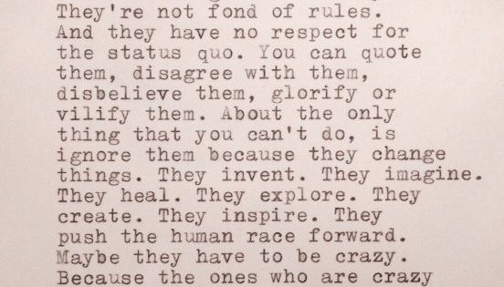 Jack Kerouac Hand Typed Quote Made On Typewriter Quotes At
