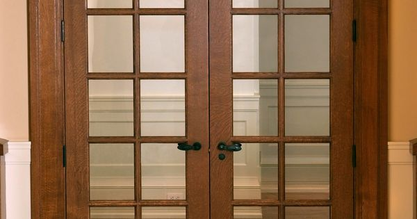 Custom 12 Panel Quarter Sawn White Oak 7 39 French Door With