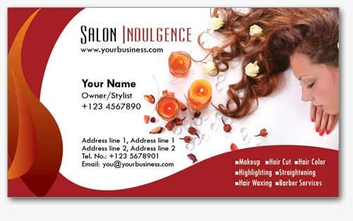 4 Salon Business Cards Templates in PSD Format Maddy Shalom - free sample business cards templates