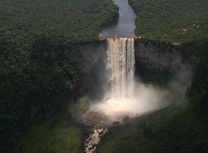 Kaieteur Falls, Guyana. kaieteurfalls guyana southamerica continents travel