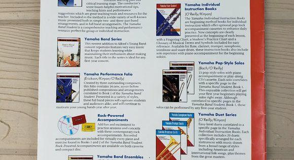 Alfred Publishing Yamaha Band Student Sax Book In 2020 Alto Saxophone Alto Saxophone Sheet Music Saxophone Sheet Music