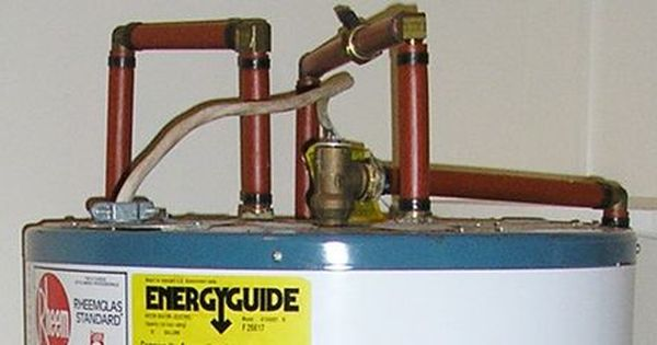 How To Fix A Water Heater S Leaking Pressure Relief Valve Water Heater Relief Valve Repair