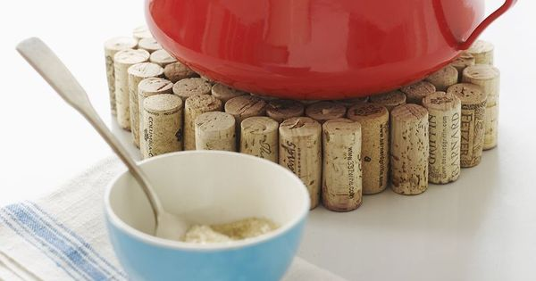DIY Idea: Simple Cork Trivet — Sweet Paul