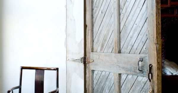 rustic door detail