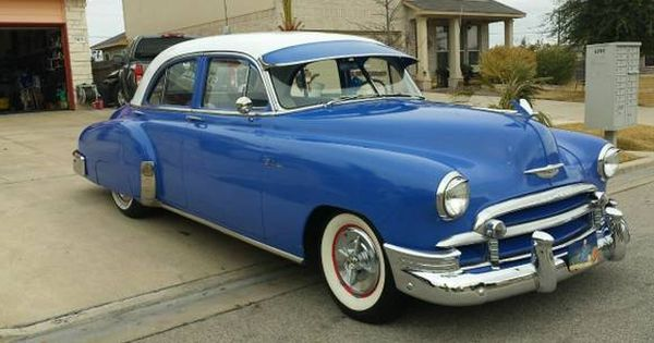 1950 Chevrolet Styleline Deluxe 4 Door Sedan Killeen Texas Chevy Classic Chevy Trucks Dream Cars