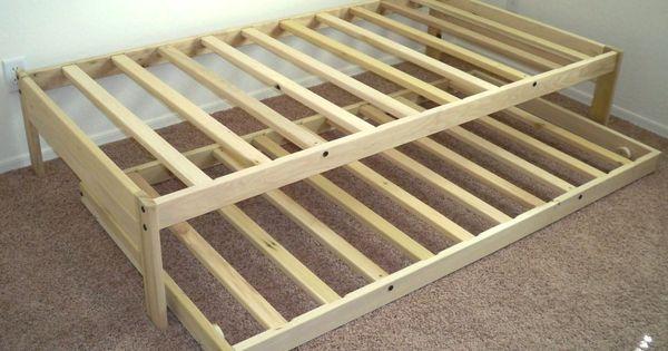Twin xl platform bed frame unique twin xl platform bed for Unique platform beds