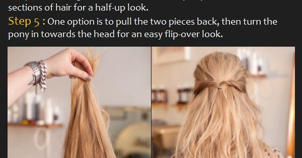 How To Style a Baby Bouffant Hairstyle [Tutorial]