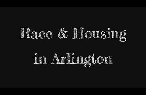 Race And Housing In Arlington Youtube Arlington Racing Youtube