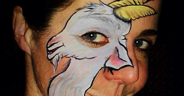 goat face painting face painting pinterest goats