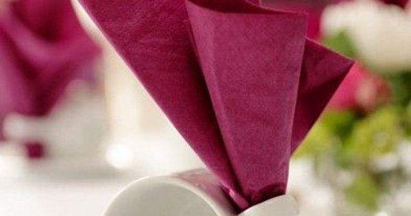 35 Beautiful Examples Of Napkin Folding Napkin Folding