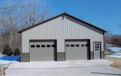 32 W X 32 L X 10 H Garage At Menards 32 W X 32 L X 10 H Garage Metal Garage Buildings Metal Shop Building Building A Garage