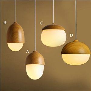 ペンダントライト 天井照明 北欧風照明 照明器具 玄関照明 ナッツ型