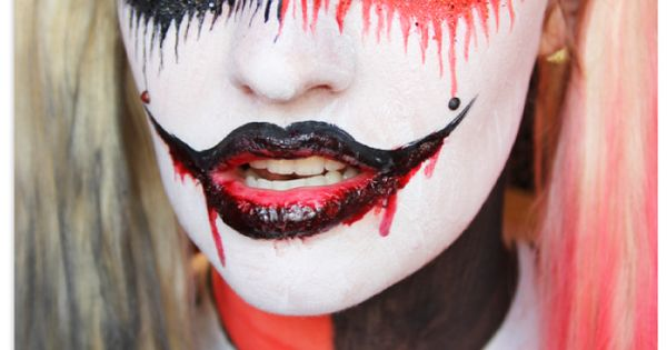 Harley Quinn a?? Cupid of Crime ...this is fabulous!! | See more about Harley Quinn, Makeup and Halloween.