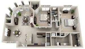 Delray Beach Apartments Atlantico At Tuscany View Plans Sims House Design Sims House House Layout Plans