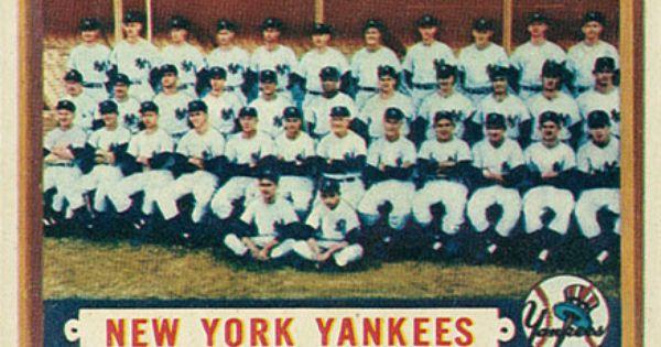 1957 Topps New York Yankees Team 97 Baseball Card Value Price Guide Yankees Team Baseball Cards Baseball Card Values